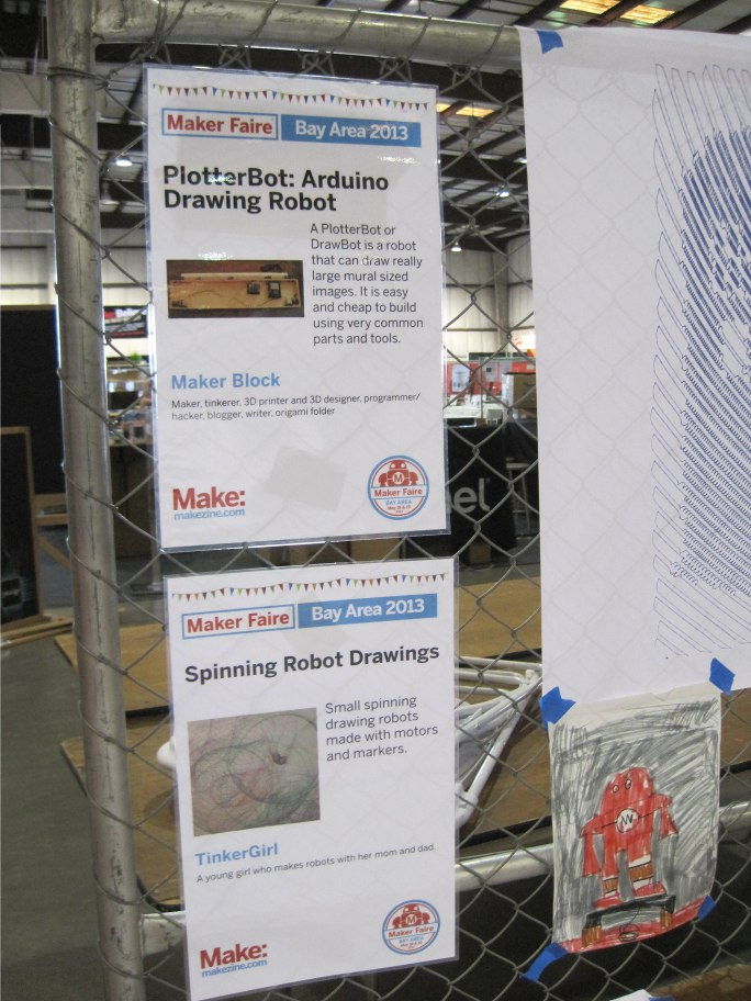 Display Posters at Maker Faire Bay Area 2013