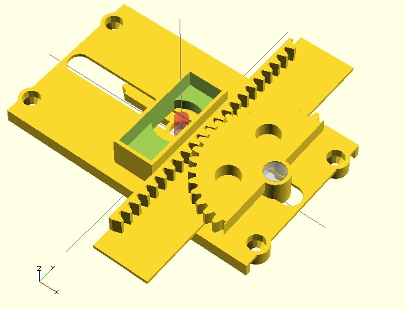 New possible design direction for the Tiny 3-Axis CNC