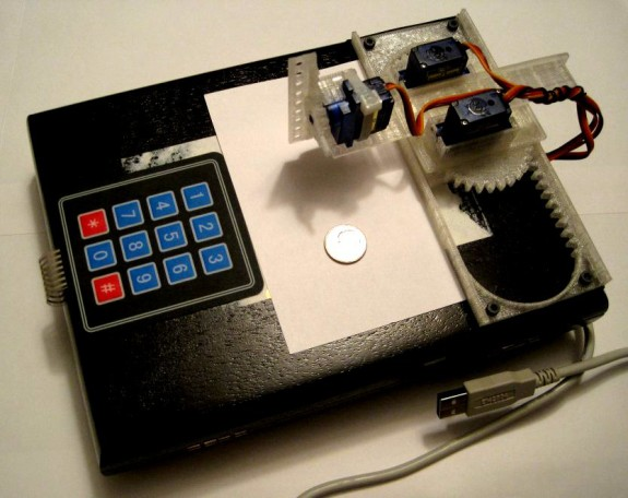 Draw on the go with a small Arduino-powered CNC robot!