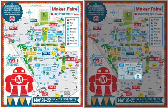 Drawing Robots at Maker Faire 2016!