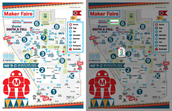 Maker Faire Bay Area 2017: Where to find me!